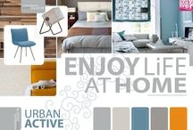 Kleuren, Patronen & Texturen | Color, Patterns & Texture / Kleur, patronen en textuur bepalen de uitstraling meubel, stoffering en interieur. Maak van jouw huis een thuis met de HuisMakeOver WOONCOLLECTIE. Bezoek www.huismakeover.nl/wooncollectie of bel 088-6253600