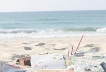 Beach Wedding Styling / A beach wedding is just so romantic - we want to inspire you to do it your way! Anywhere in the world where there is a beach would work!
