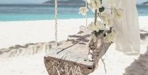 b e a c h . w e d d i n g / beach wedding inspiration for the barefoot bride