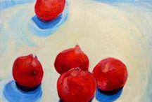 Pomegranate  / Inspiration for an upcoming pomegranate design