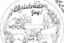 Coloring pages Christmas / Christmas coloring pages