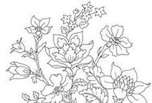 Coloring pages Flowers / Flowers