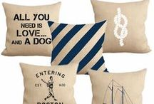 toss by fiber and water / Toss is Fiber and Water's latest product line. Toss pillows for your home are hand pressed with Fiber and Water designs on 100% natural burlap with duck canvas backing.