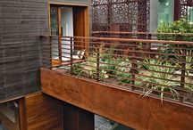 Backyards / Landscape architecture and gardens