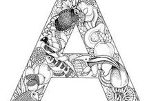 Coloring pages Alphabeth