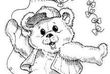 Coloring pages Bears