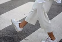 CULOTTES / WAYS TO WEAR: CULOTTES. Day-to-night dressing just got a whole lot easier... http://www.atterleyroad.com/the-road/3-ways-wear-culottes/ #fashion #style #inspiration #streetstyle #modern #contemporary #minimal #effortless