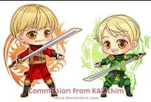 Chibi Commission / A place for my cute chibi commissions~