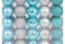 Aqua and Silver