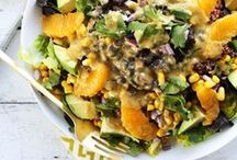 Salads / Nourishing and satisfying salads that are anything but boring.
