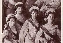 Romanov perhe / Nikolai II ja perhe, erityisesti OTMA
