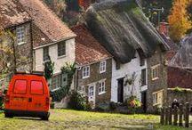 Inglaterra / Campo verde, castillos, pueblos pequeños y por supuesto, Londres, la capital.
