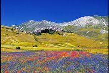 Italia, panorama / Casi me da ganas de llorar. Lo bello de Italia no yace en lo grande sino en lo intimo.