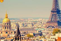 Francia / Bellos pueblos franceses y, por supuesto, París.