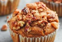 Muffins + Sweet Breads / Nothing's better than a warm, fluffy muffin straight out the oven. Muffins and sweet breads for all your vegan baking adventures.