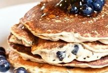 Pancakes + Waffles / Hearty, vegan pancakes and waffles that are perfect for weekend brunch.