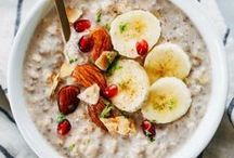 Oats + Oatmeal / Anything and everything using oats. The possibilities are endless!