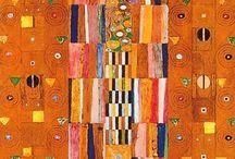 Gustav Klimt / Mi gran amor entre la burguesía vienesa. Una peculiar mezcla de cariño, obsesión y glamour. No dan ganas de pensar en las razones sino solamente fijar la mirada en el cuadro y disfrutar de la maravilla que me llena de energía vital.
