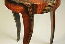 Madera / La madera es un material interesante y cálido. Se siente su profundidad espiritual como si fuera un ser querido.
