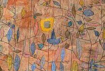 Paul Klee / Estas pinturas me vuelven loca. Estas líneas tan finamente obsesivas, sólo lo simplemente complicado y lo complicadamente simple. Sus pinturas parecen infinitas en su variedad.