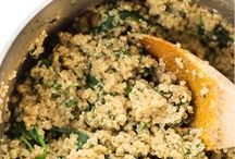 Quinoa / Amazing vegan recipes with quinoa, a nutritional powerhouse food!