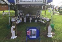 Madestone Sculptures / Sculpture, design, art
