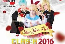 2016/03/06 Clas:h Medan / @Hermes Convention Hall, Medan.