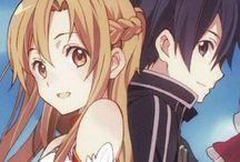 ASUNA❤️KIRITO / Kirito and asuna = ❤️
