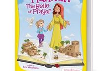 Hannah: The Belle of Prayer / In Book One of the Bible Belles series, Rooney Cruz isn't exactly having a great day. The normal teasing on the playground and, oh, that mud puddle! But soon an angel appears, and Rooney begins a journey that will change her life forever.  Join Rooney as she uncovers the first secret superpower that she possesses: the Power of Prayer. It's a once-in-a-lifetime adventure that will transform her into the greatest superhero of all: a Bible Belle!