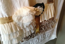 French Linens / Some french inspired, lady-like tea towels...some vintage, some new...