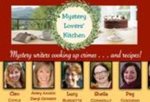 Who we are / We are mystery writers who love to cook and eat and share our recipes