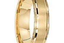 Mens Gold Rings / Genuine gold in 10kt, 14kt, 18kt.