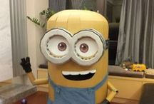 Minion Costumes / Minion halloween costumes for fancy dress parties