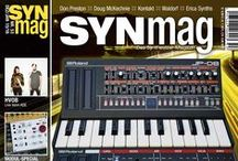 SynMag - Synthesizer-Magazin / Synthesizer!  Cover des SynMag (www.synmag.de)