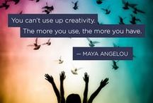 Creative Quotes / Quotes and messages about creativity