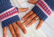 Crochet Wristies & Boot Cuffs