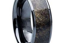 Exotic Inlay Rings