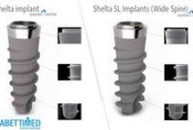 Implant dentar Shelta / Platforma implantară Shelta a fost creată ca o completare la platforma Premium Kohno pentru a rezolva și cazurile în care suportul osos este inferior calitativ.