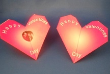 Valentines Day / Many of he items presented on this board are very unique, different and innovative.  Most importantly, you can learn how to create/fold them by yourself. / by Stand Innovations