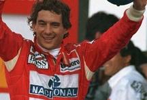 AYRTON SENNA DO BRASIL  / Ayrton Senna foi e sempre será o maior entre todos os pilotos da F1. Não falo isso me baseando em resultados pois outros pilotos foram superior a ele nesse quesito, mas o que esse cara fazia nas pistas, a sua ousadia, a sua superação ninguém jamais chegará perto. / by Tania Cristina Santos