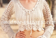 Crochet Patterns Top, Sweater