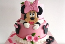 Mickey / Minnie mouse cakes