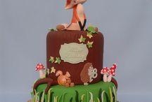 Garden / Woodland / Forest cakes