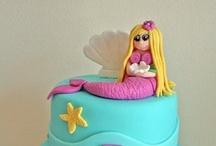 Mermaid / Under sea cakes