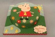Peppa pig / Olivia / cakes