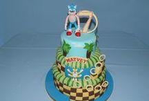 Sonic cakes