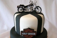 Harley / Motocycle / Cycle cakes