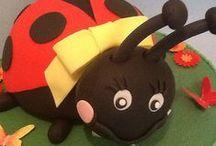 Ladybug / Bugs Cakes