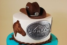 Cowboy / Cowgirl cakes
