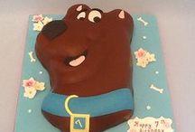Scooby cakes